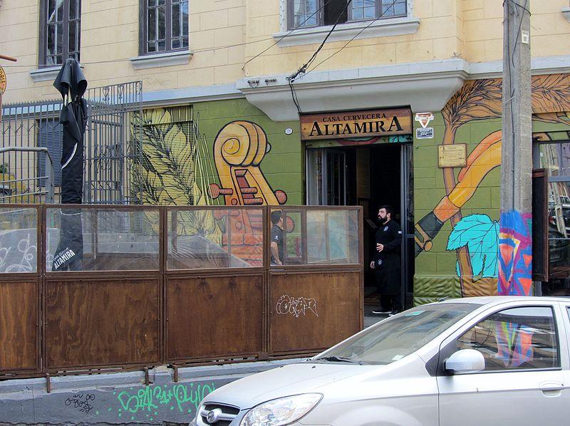 Lugares em Valparaíso e Viña del Mar