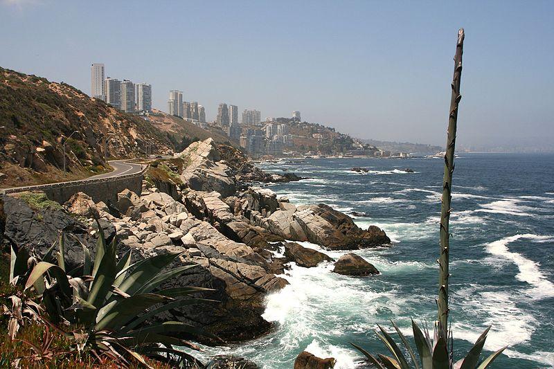 Pontos turísticos em Valparaíso e Viña del Mar