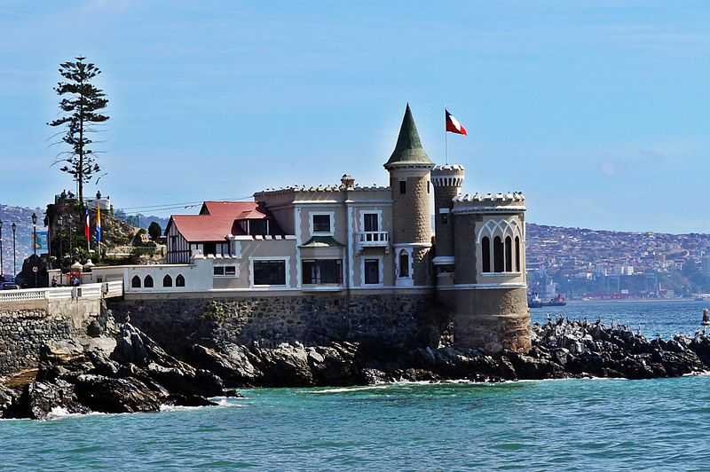 Castillo Wulff, em Viña del Mar