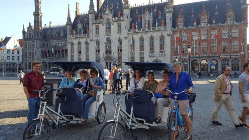 Passeios de riquixá Bélgica