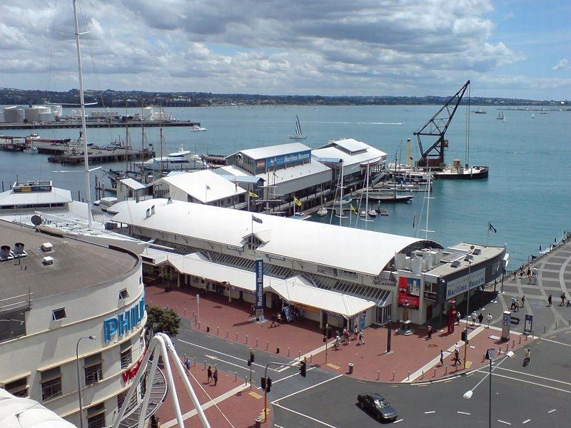 pontos turísticos de Auckland históricos