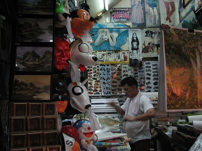 Mercados da Tailândia
