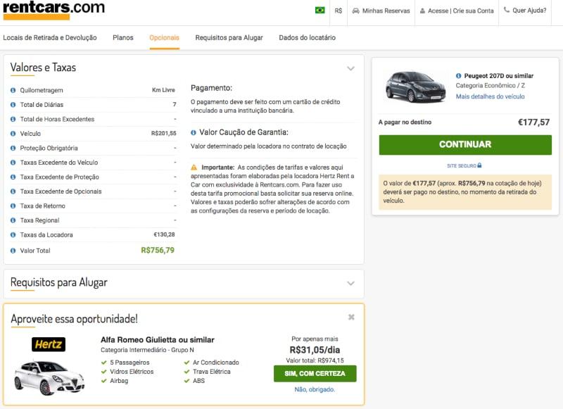 Como escolher carro na Bélgica