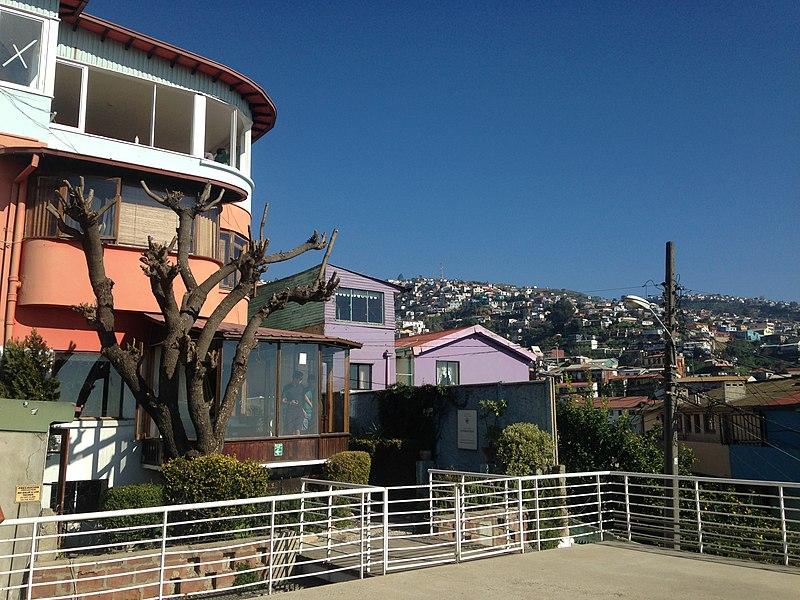 Principais pontos turísticos de Valparaíso.