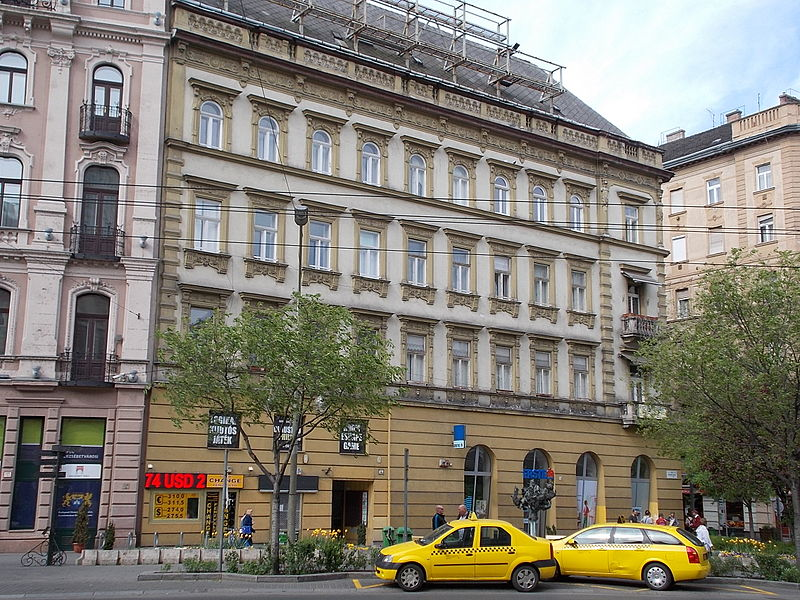 Táxi em Budapeste