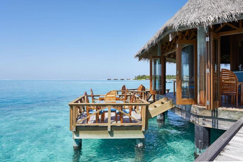 hotéis submersos Ilhas Maldivas