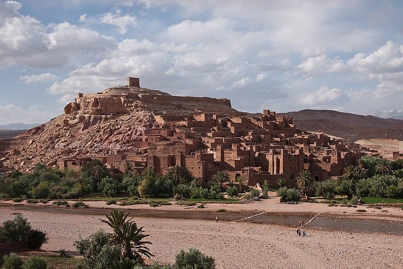 Ksar de Ait Benhaddou, em Marracos