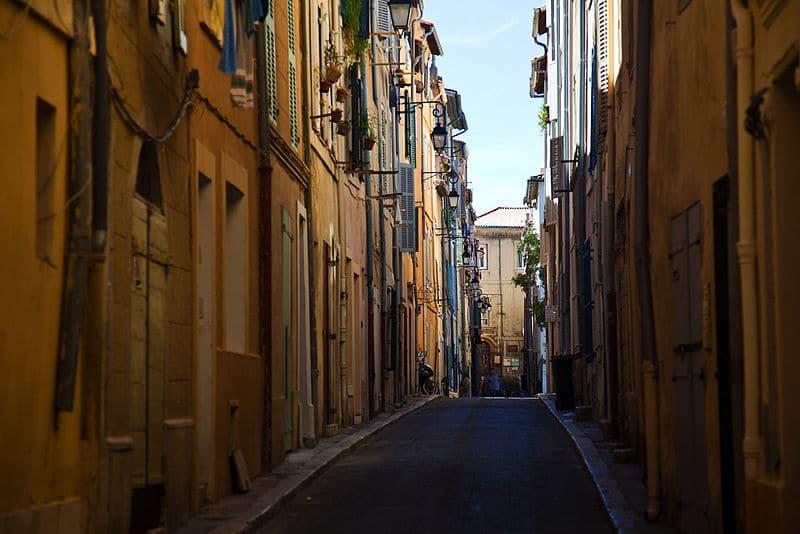 pontos turísticos de Marselha panier