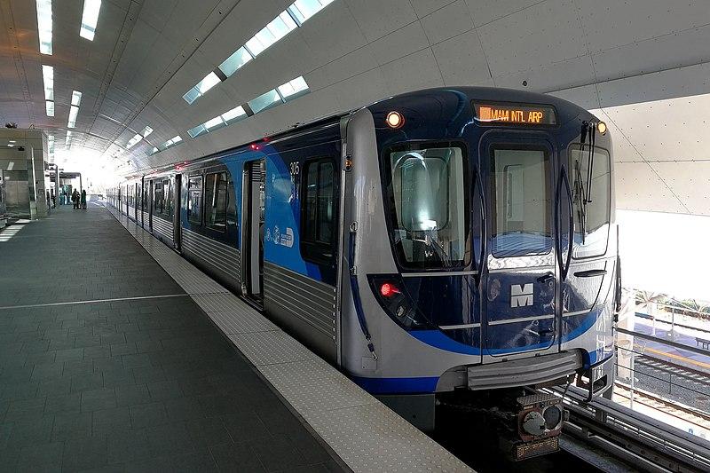 Metrorail aeroporto de Miami