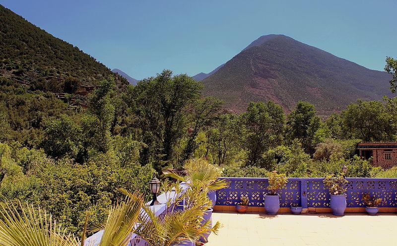 Montanhas do Atlas Marrocos