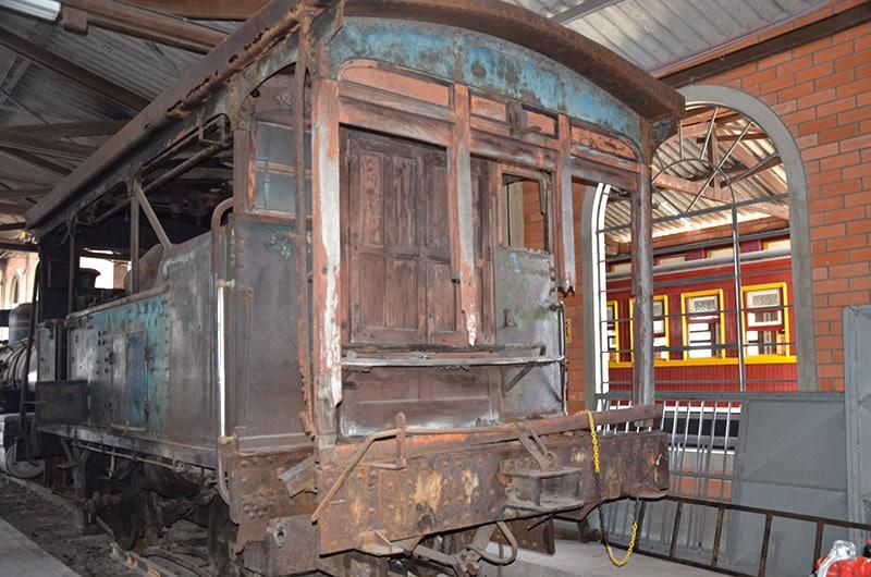 Museu Ferroviário em Tubarão SC