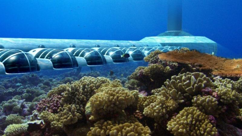 hotéis submersos Ilhas Fiji