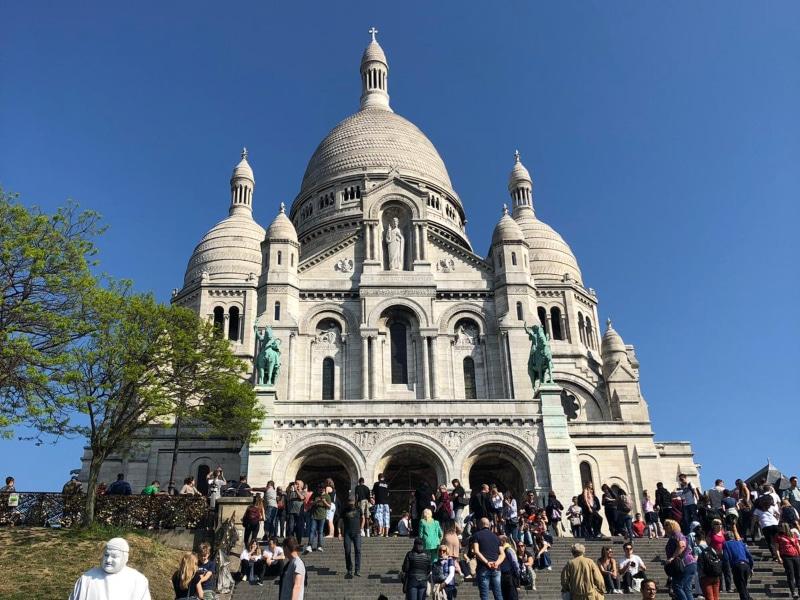 Basilica Sacre Coeur horários