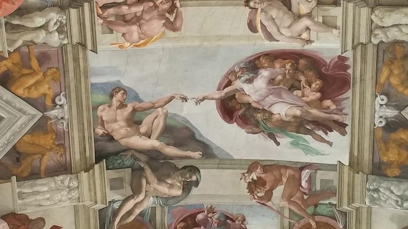 Capela Sistina Pinturas