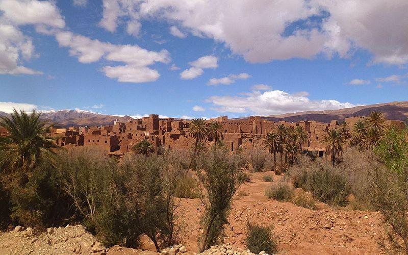 Garganta de Todra Marrocos