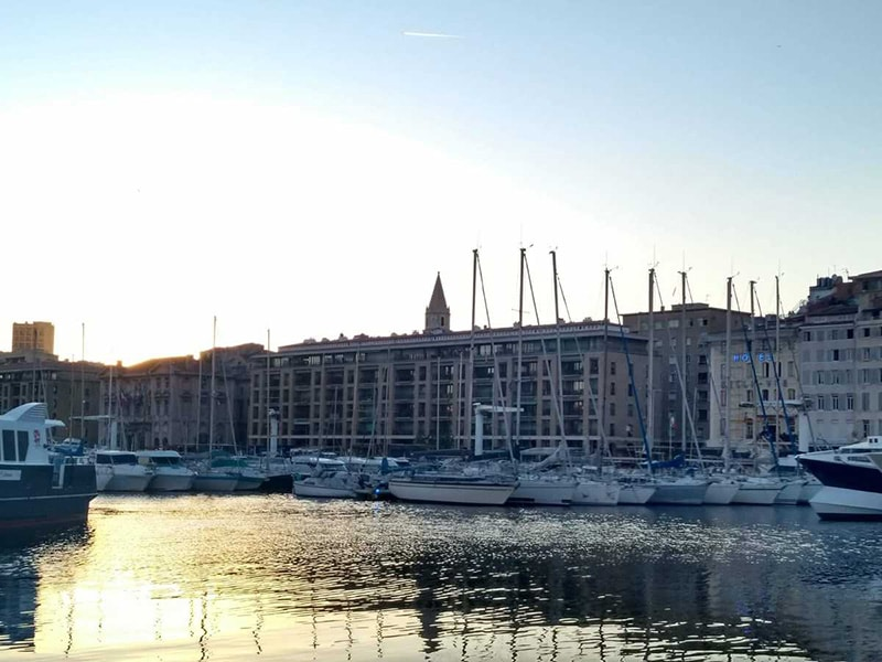 Vieux Port Marselha