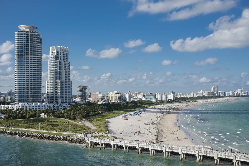 Como chegar em Miami Beach