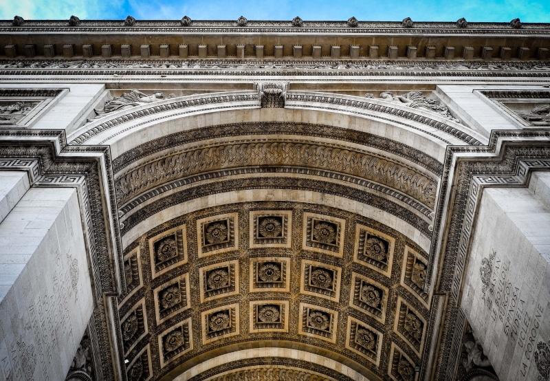 Ingresso para o Arco do Triunfo