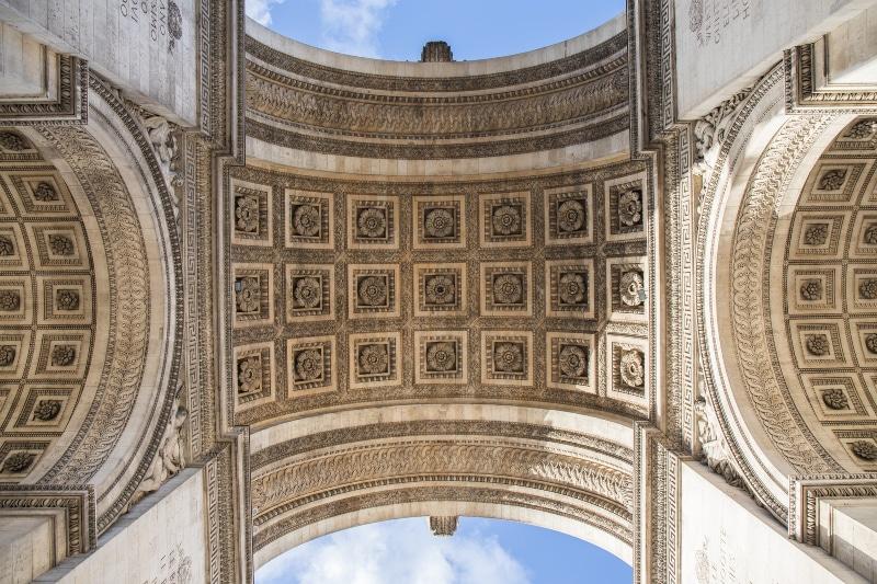 Arco do Triunfo arquitetura