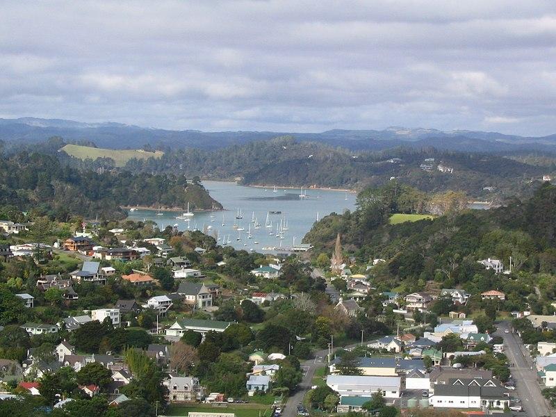 Cidades perto de Auckland mais bonitas