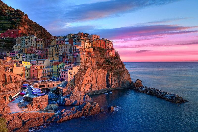Portofino, em Cinque Terre