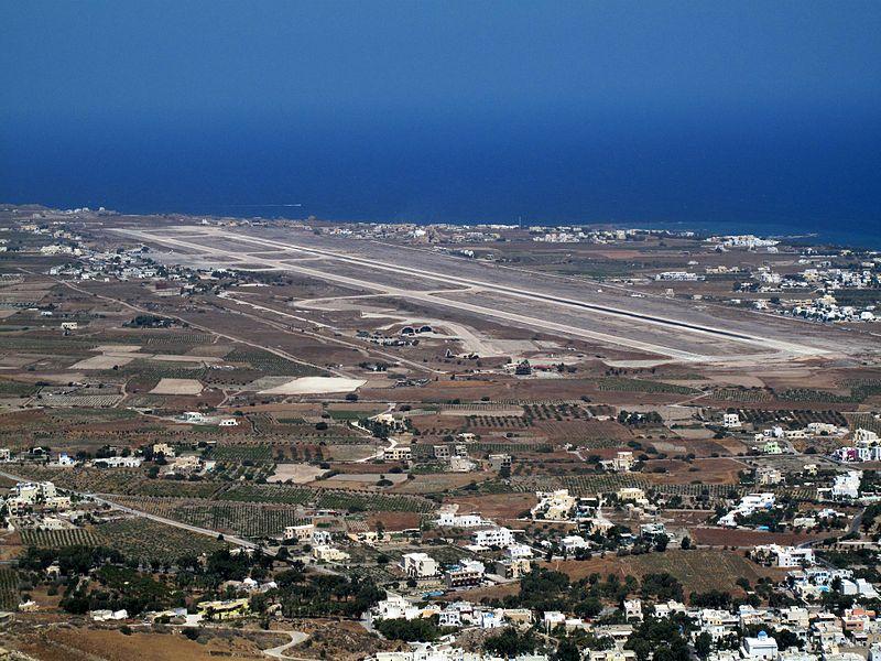 Como chegar em Santorini, na Grécia