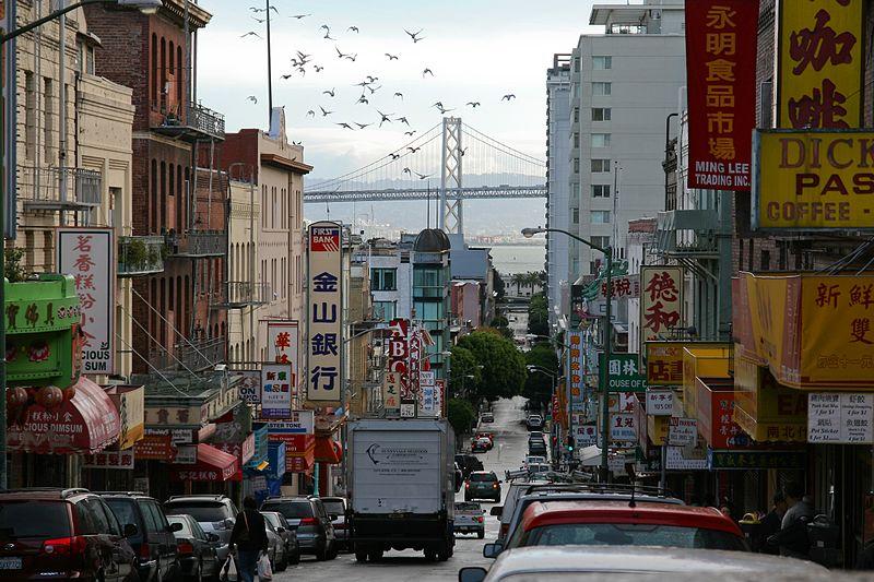 Chinatown nos estados unidos