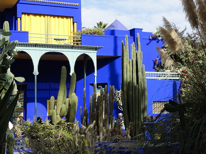 Jardim Majorelle Marrocos