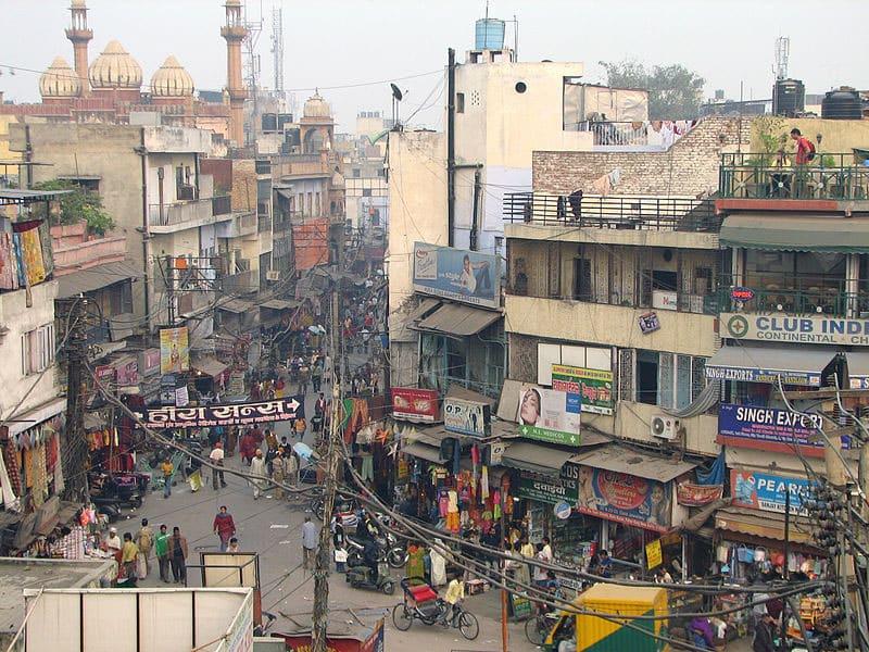 Roteiro na Índia