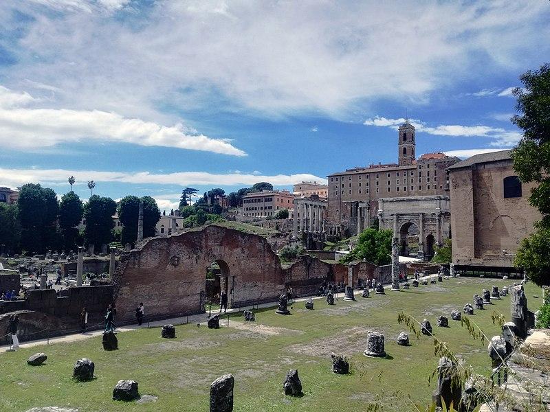 Fórum Romano: onde fica a Basílica Emília