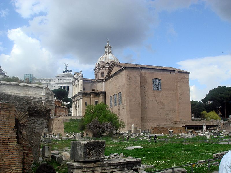 Fórum Romano: onde fica a Cúria