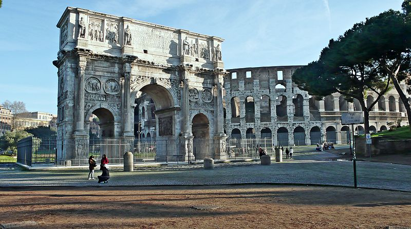 Fórum Romano: onde fica o Arco de Constantino