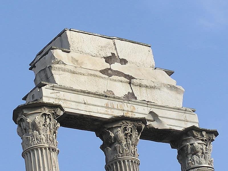 Fórum Romano: onde fica o Templo de Castor e Pólux