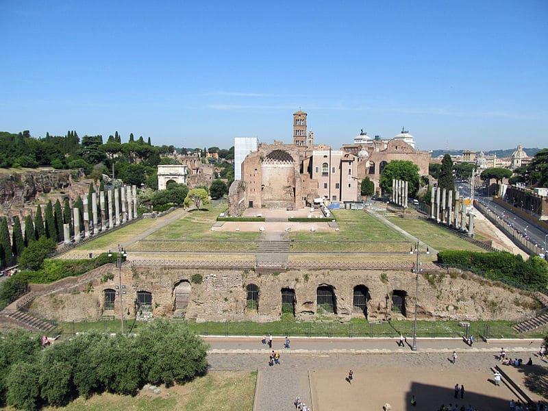 Fórum Romano: onde fica o Templo de Vênus