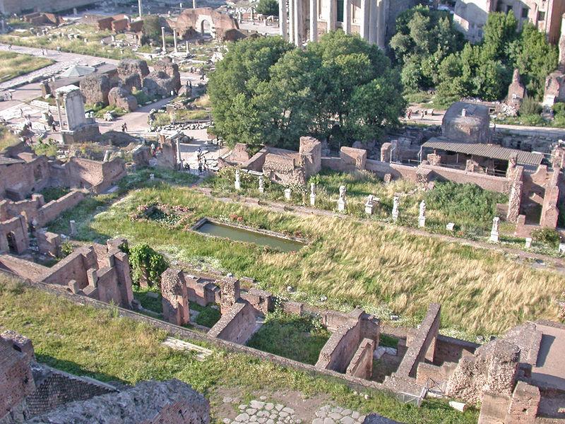 Fórum Romano: onde fica o Templo de Vestas