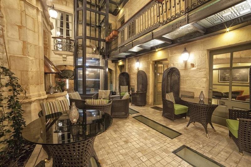 Hotéis em Valletta com restaurante