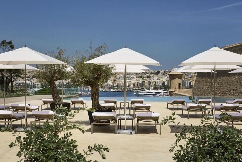 Melhores Hotéis em Valletta cinco estrelas