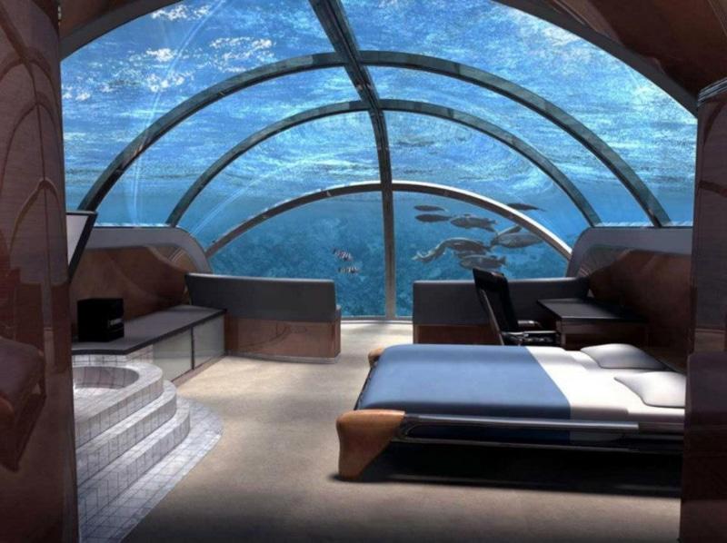 Hotéis submersos