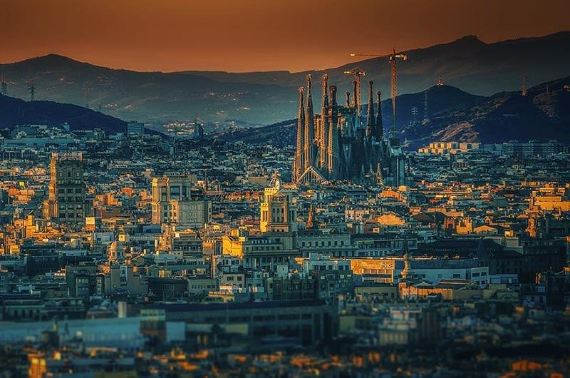 Curiosidade da Sagrada Família na Espanha