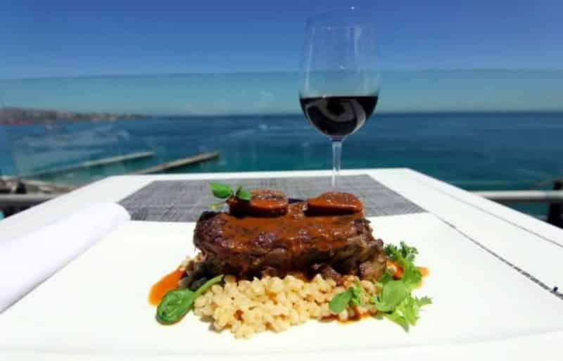 Restaurante de alta qualidade em Valparaíso