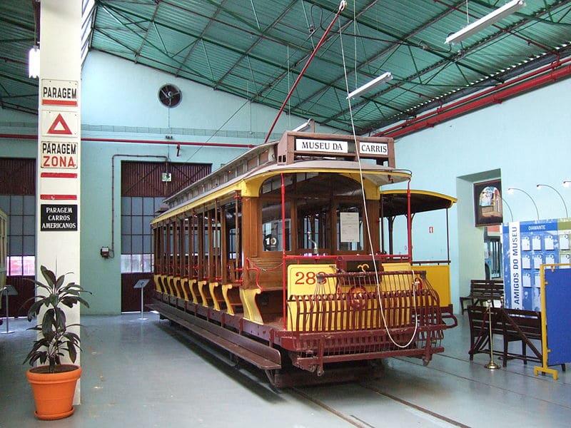 Museu da Carris, atração de Lisboa