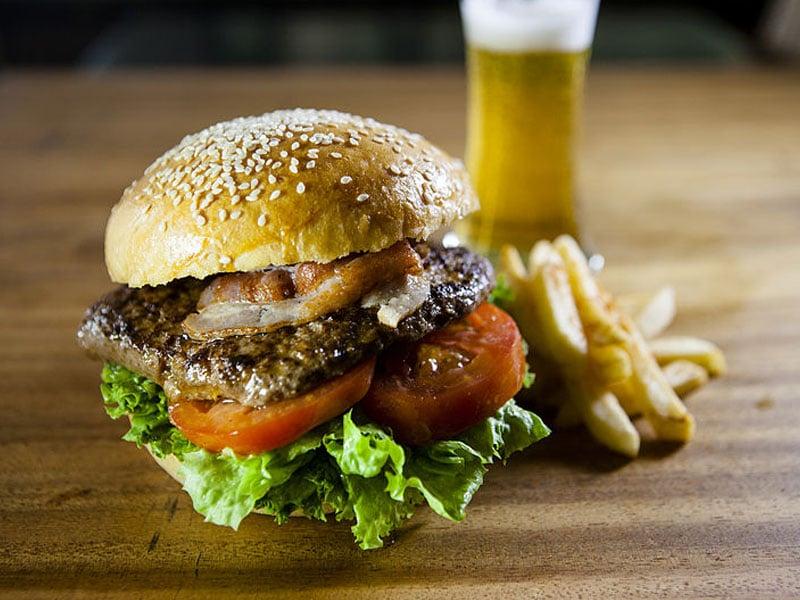 Hambúrguer em Setúbal
