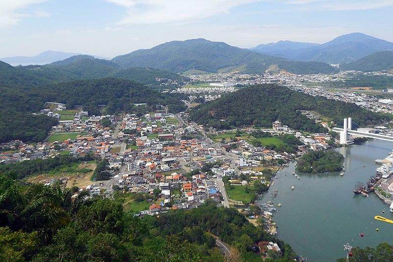 Regiões, bairros e hotéis em Balneário Camboriú