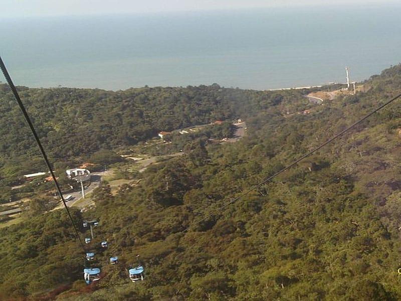 Praias isoladas em Santa Catarina