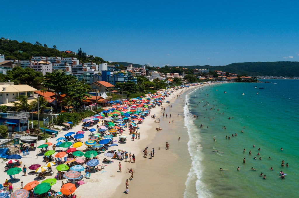 Praias perto de Balneário Camboriú