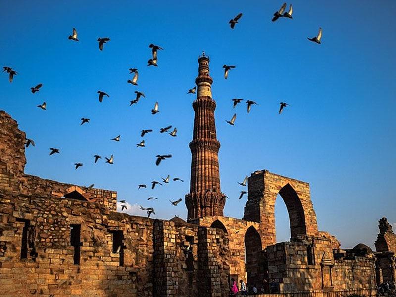 Pontos turísticos de Nova Deli antigos