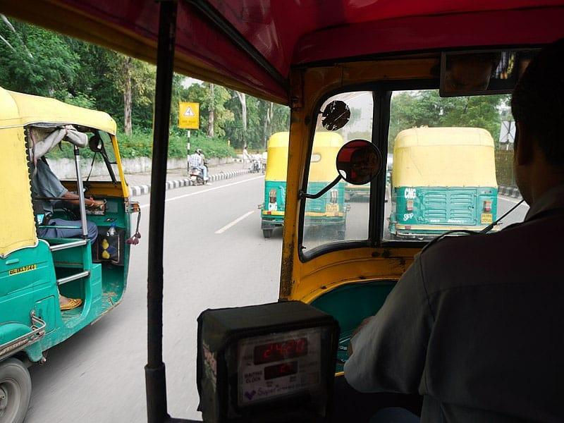 Transporte em Nova Deli rápido e barato