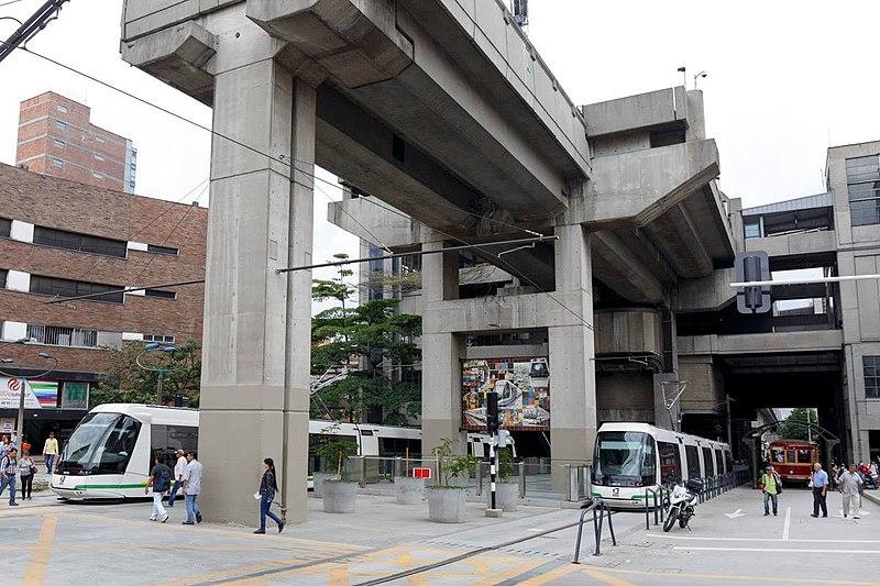 transporte em Medellín elétrico