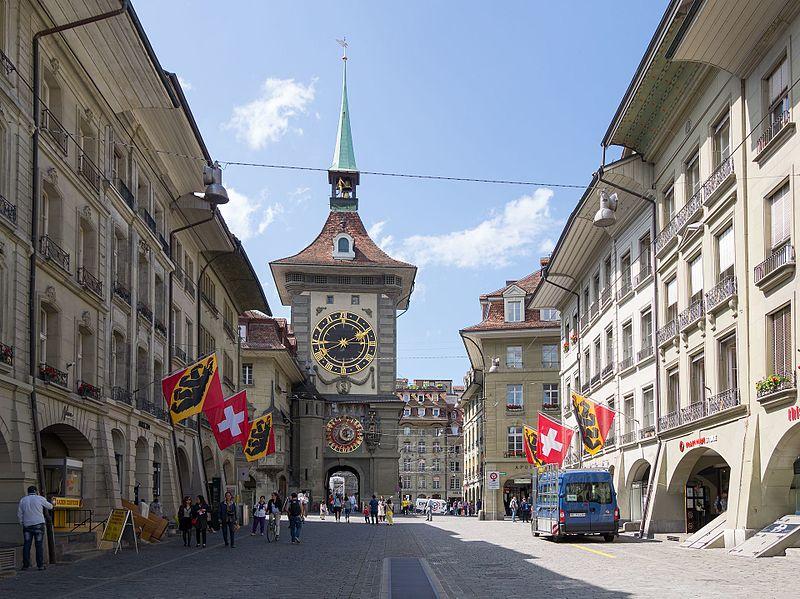 Pontos turísticos de Berna, capital da Suíça
