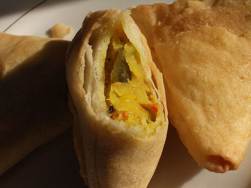 Restaurantes em Nova Deli de frituras